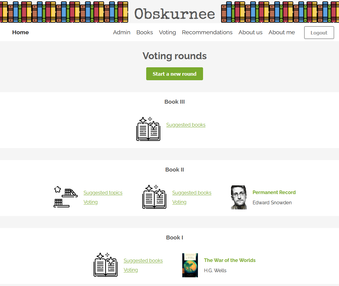 Voting rounds
