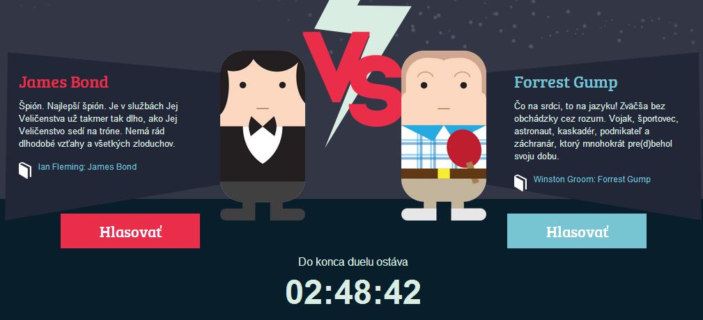 Bond vs Gump